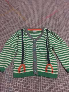 Green Top for Baby Boy