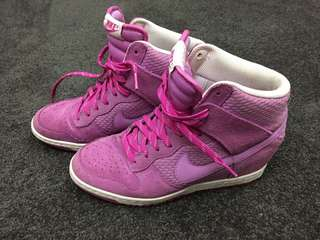 Lilac Nike Wedge Runners