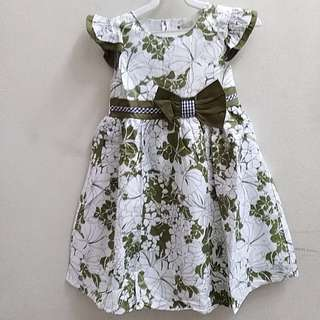 Floral kids girl dress