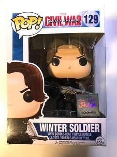 Funko Pop Civil War Captain America Winter Soldier