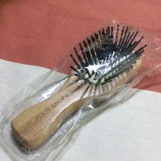 Mini Bamboo Hairbrush