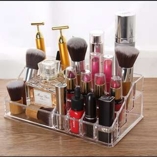 Acrylic Makeup Storage Box Clear