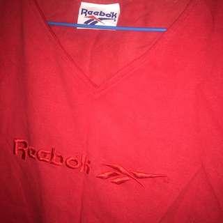 Reebok 古著短版上衣