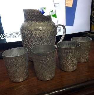 泰國🇹🇭錫壺 錫杯組