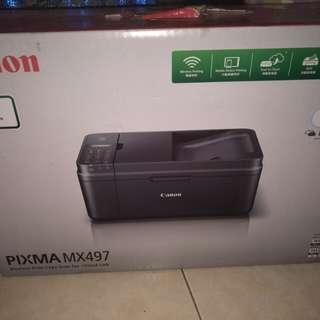 canon pixma MX497 wireless printer