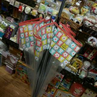100%日版 Miffy 兔 米菲兔 透明長傘 直遮 透明遮 Umbrella 雨傘 長雨遮 透明長遮 透明雨傘 粉紅色款