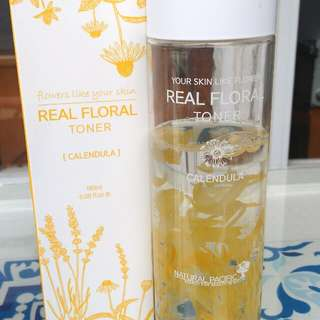 Natural Pacific Real Floral Energy Toner Calendula