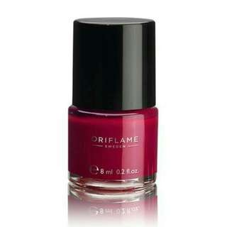 Pure Colour Nail Polish Ruby Pink Kutek Kuku