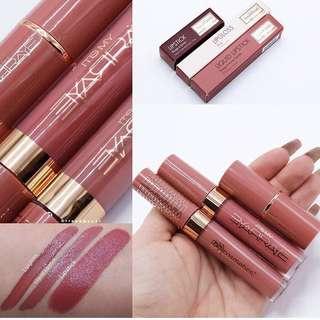 [IN STOCK] BH Cosmetics x Itsmyrayeraye Rosey Raye lipstick, liquid matte lipstick, lip gloss