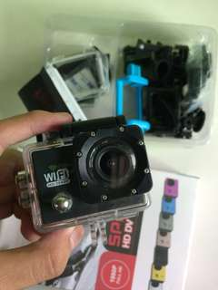 GoPRO-wifi HD with sport HD DV