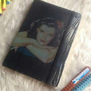 PIN-UP GIRL VICTORIA'S JOURNAL HB THICK NOTEBOOK SALE