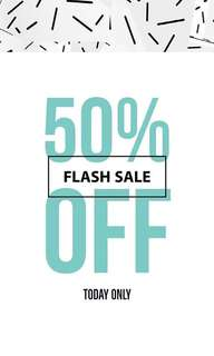 50% OFF EVERYTHING! 24 HOURS 👛