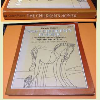 THE CHILDREN'S HOMER THE ADVENTURES OF ODYSSEUS AND THE TALE OF TROY
