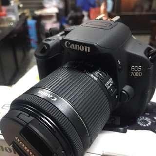 Canon 700D +18-55stm鏡頭