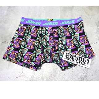 「Dc Comics Joker 蝙蝠俠 小丑 四角褲 / 內褲 @公雞漢堡」