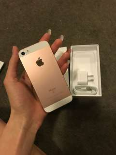 iPhone SE new perfect condition pink white 1 2 3 4 5 6 7 8 x