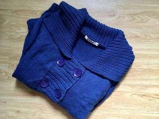 Calico Knitted Jacket