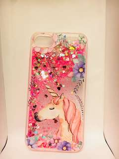 Unicorn 流沙閃閃 Bling Bling iPhone 7 case
