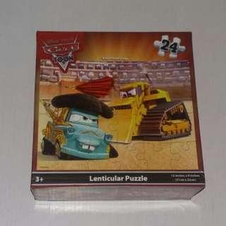 Disney Pixar Cars Toon Lenticular Puzzle