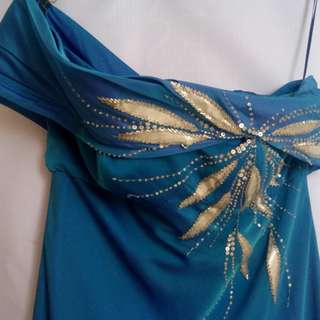 Long gown (blue)