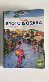 Lonely Planet Kyōto & Osaka Travelguid