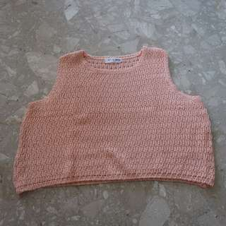 Knitted Oversized Crop