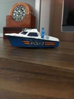 Police Launch Matchbox made an n England