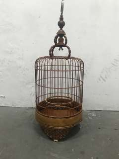 Mata puteh bird cage