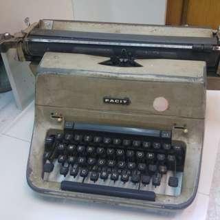 Facit 古典絕版打字機