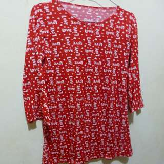 Love Blouse Red EY