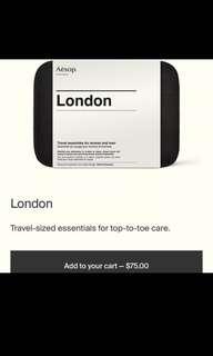 Aesop London Travel Kit/Set