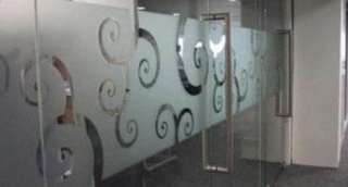 Glass sticker and film, door label signages, designing of Art work, name card printing.