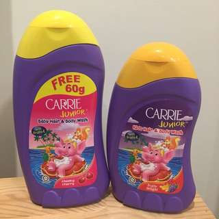 Carrie Junior Hair and Body Wash