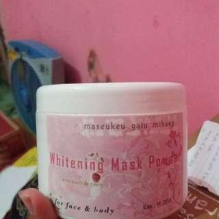 Whitening Mask Powder (WMP) PEMUTIH BADAN