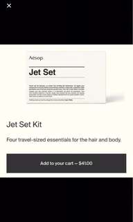 Aesop Jet Set Travel Kit/Set