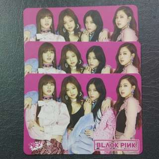 Blackpink set