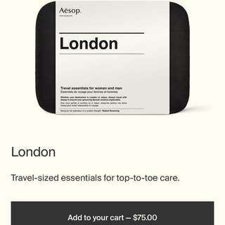 Aesop London Travel Kit + FREE GIFTS
