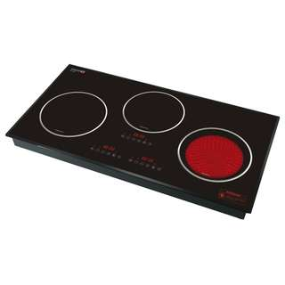 Sincero Trio Intelligent Electric Induction & Ceramic Cooktops with Sincero Pressure Cooker and Cookware