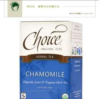 棉花田CHOICE有機洋甘菊茶