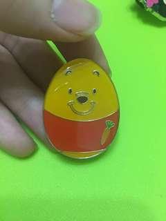 2018年迪士尼會員奇妙處處通復活蛋章維尼熊 Winnie the Pooh pin trading