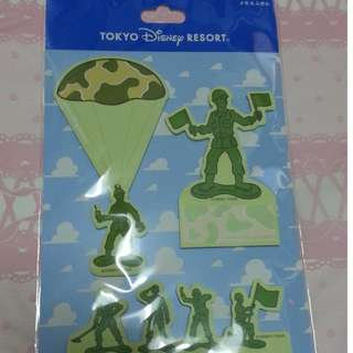 日本 迪士尼 Disney Resort Toy Story 玩具兵 Memo紙