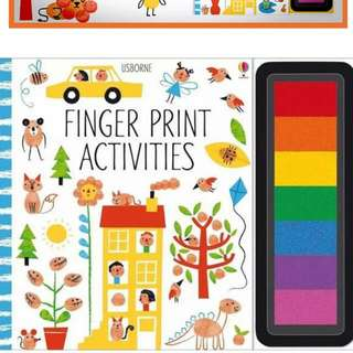 BN Usborne Fingerprints Activities