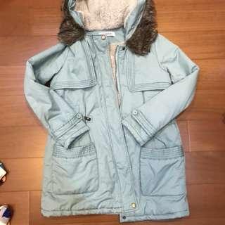 百貨專櫃購入 Cumar刷毛羽絨外套