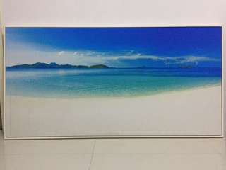 Beautiful Beach Canvas Painting