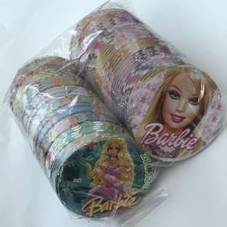 Assorted Barbie Pogs