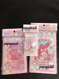 My Melody Zip Lock Top Bag