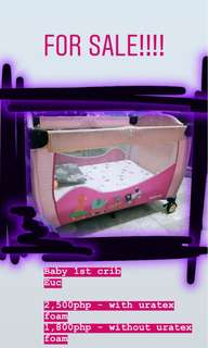 Baby 1st Crib/Playpen