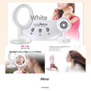 iMirror - Makeup Mirror with LED light and fan