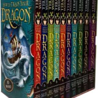How to train your dragon 10 books