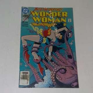 Vintage DC Wonder Woman Comics 1993